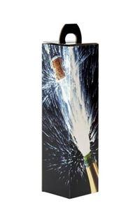 Afbeelding van Draagkarton 1 fles Champagne 9x9x33 cm