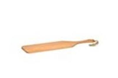 Picture of Beuken serveerplank 89x20x1,5 cm met greep en touw