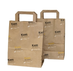 Afbeelding van Ds à 250 papieren tas Kaas met smaak